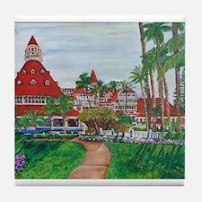 Coronado Hotel Del Tile Coaster