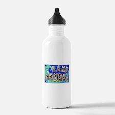 Lake Geneva Wisconsin Greetings Water Bottle