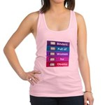 Binders Full of Women for Obama Racerback Tank Top