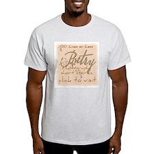 The 20 Lines Logo Light T-Shirt