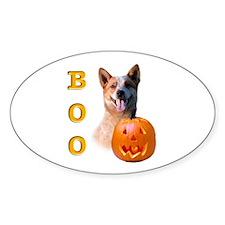 Halloween ACD Boo Oval Decal
