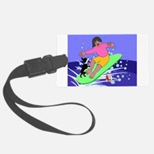Surfing Bliss Luggage Tag