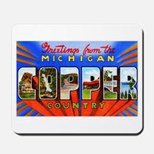 Michigan Copper Country Mousepad