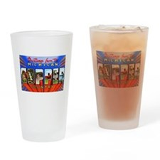 Michigan Copper Country Drinking Glass