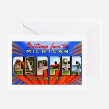 Michigan Copper Country Greeting Card
