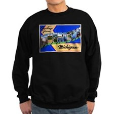 Muskegon Michigan Greetings Sweatshirt