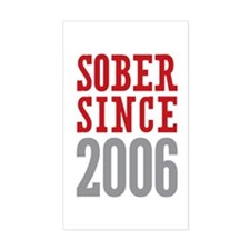 Sober Since 2006 Decal