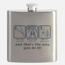 Dick in a Box Flask