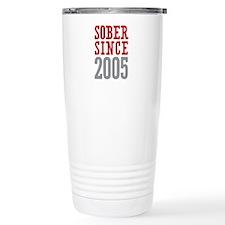 Sober Since 2005 Travel Mug