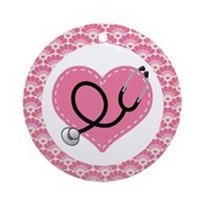 Nurse Doctor Stethoscope Ornament Gift