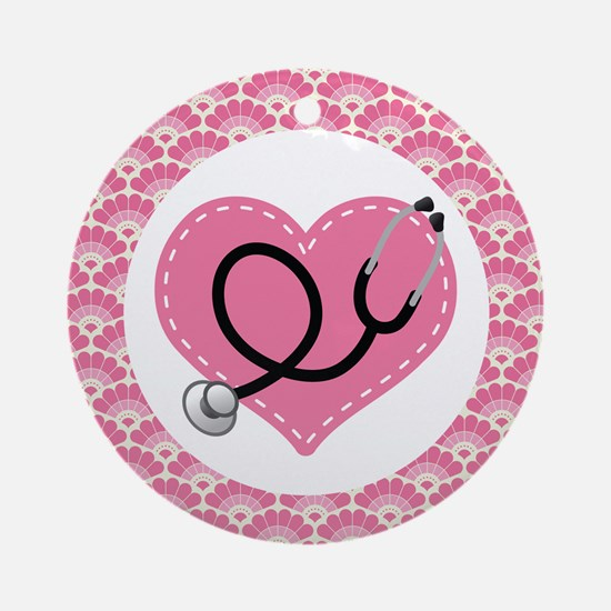 Nurse Doctor Stethoscope Ornament Gift