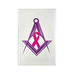 Breast Cancer Awareness Rectangle Magnet (10 pack)