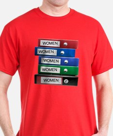 Do you have your Binders full of women? T-Shirt