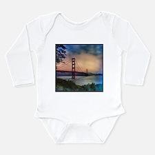 Golden Gate Bridge Long Sleeve Infant Bodysuit
