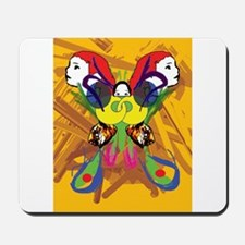 Psychedelic Butterfly Mousepad