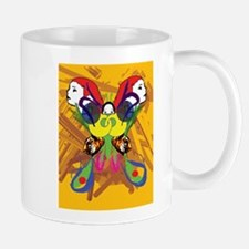 Psychedelic Butterfly Mug