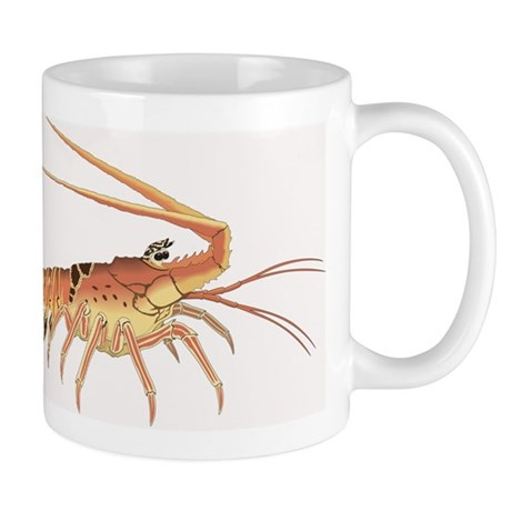 Lobster Heads Right Left-handed Mug