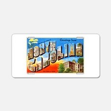 North Carolina Greetings Aluminum License Plate