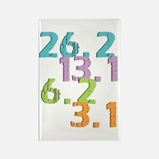 runner distances Rectangle Magnet (100 pack)