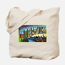 Norwich Connecticut Greetings Tote Bag