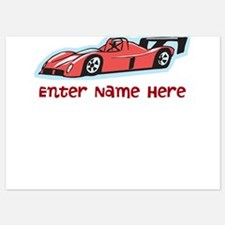 Personalized Racecar Invitations