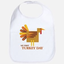 First Turkey Day Bib