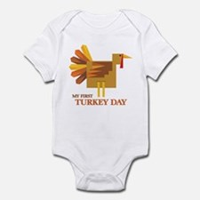 First Turkey Day Infant Bodysuit