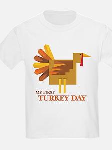 First Turkey Day T-Shirt