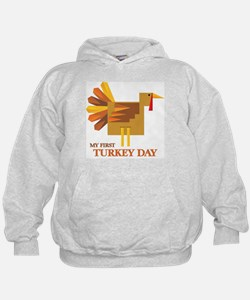 First Turkey Day Hoodie