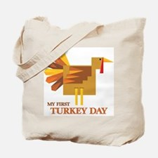 First Turkey Day Tote Bag