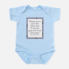 Master, Go On Infant Bodysuit