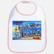 Oak Bluffs Massachusetts Greetings Bib