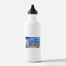 Oak Bluffs Massachusetts Greetings Water Bottle