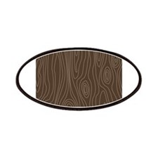 Chocolate Brown Wood Grain Patches