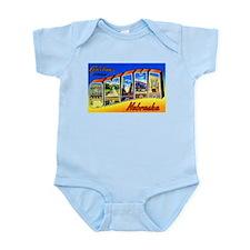 Omaha Nebraska Greetings Infant Bodysuit