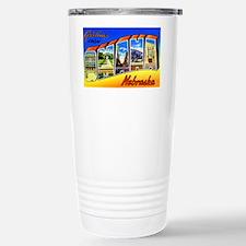 Omaha Nebraska Greetings Travel Mug
