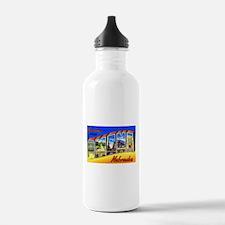Omaha Nebraska Greetings Water Bottle
