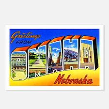 Omaha Nebraska Greetings Postcards (Package of 8)