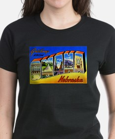 Omaha Nebraska Greetings Tee