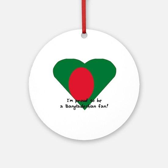 Bangladesh pride Ornament (Round)