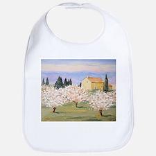 Almond Blossom Cottage Bib