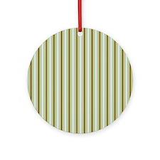 Woodland Stripes Ornament (Round)