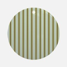 Woodland Stripes Ornament (Round)