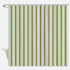 Woodland Stripes Shower Curtain