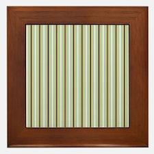 Woodland Stripes Framed Tile