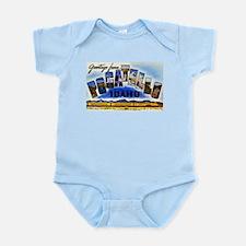 Pocatello Idaho Greetings Infant Bodysuit