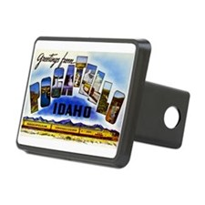 Pocatello Idaho Greetings Hitch Cover