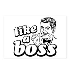 Like a Boss Postcards (Package of 8)