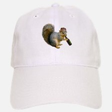 Squirrel Beer Hat Baseball Baseball Cap