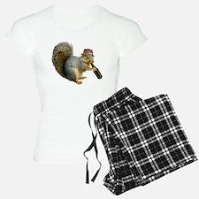 Squirrel Beer Hat Pajamas